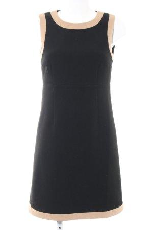Hallhuber Minikleid schwarz-nude Casual-Look