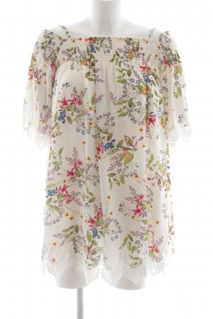 Hallhuber Minikleid Blumenmuster Casual-Look