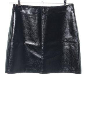 Hallhuber Minirock schwarz Elegant