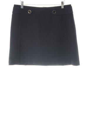 Hallhuber Minirock dunkelblau schlichter Stil