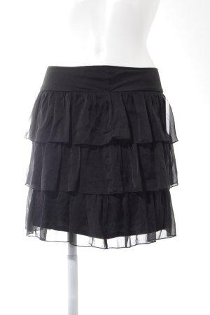 Hallhuber Minigonna nero stile casual