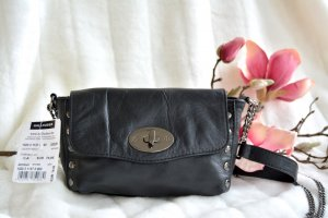 Hallhuber Mini Bag black leather