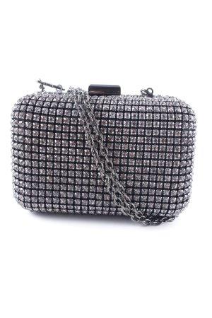 Hallhuber Borsetta mini nero-argento stile casual