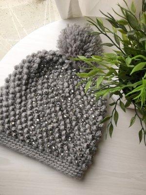 Hallhuber Knitted Hat grey