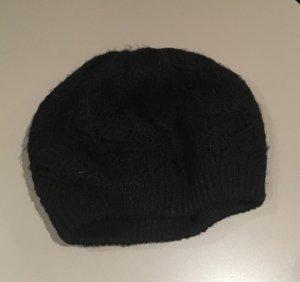 Hallhuber Mütze schwarz