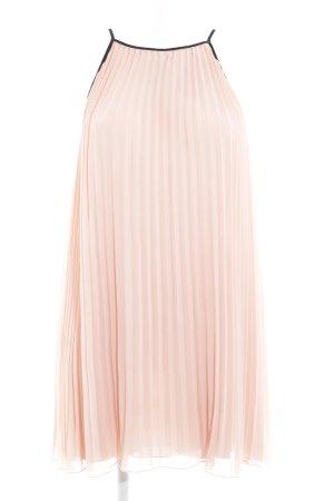 Hallhuber Robe dos-nu abricot style romantique