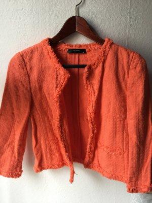 Hallhuber orange Sommer Blazer