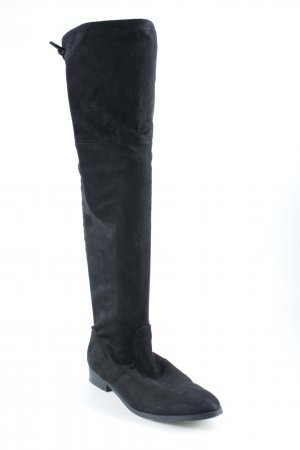 Hallhuber Overknees black elegant