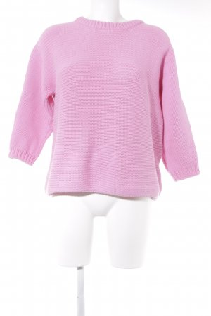 Hallhuber Oversized Pullover pink Casual-Look
