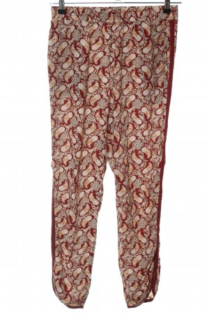 Hallhuber Palazzo Pants red-cream allover print casual look