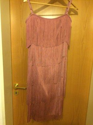 Hallhuber Party Kleid im Charleston Look - Altrose Gr. 40