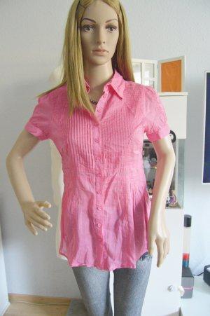 Hallhuber pinke bluse gr.34 neuwertig