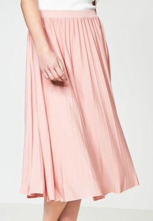 Hallhuber Plisséerock rosa nude Größe S neu, mit Etikett