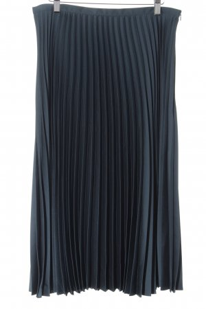 Hallhuber Pleated Skirt forest green elegant