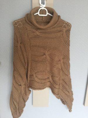 Hallhuber Cape multicolored wool