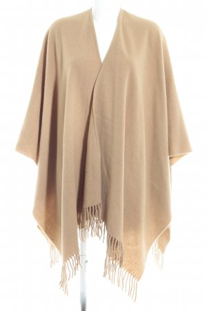 Hallhuber Poncho camel Casual-Look