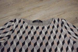 Hallhuber Jersey de lana multicolor Lana