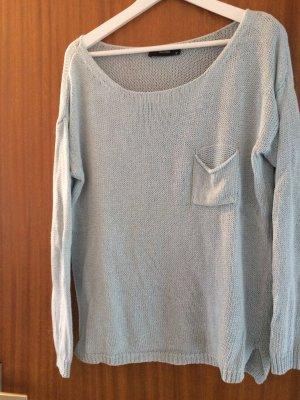Hallhuber Pullover, Hellblau, Größe XS