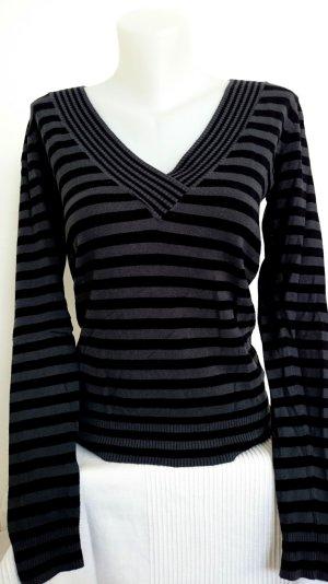 Hallhuber Pullover mit V-Ausschnitt (Gr. XS)