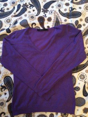 Hallhuber Pullover mit V-Ausschnitt, XS