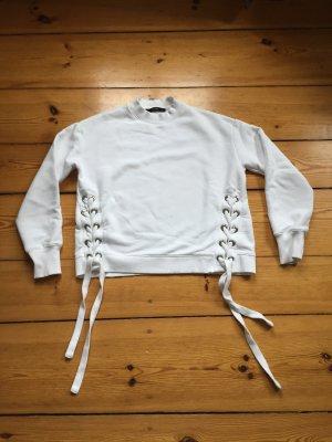 Hallhuber Pullover weiß