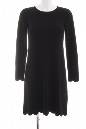 Hallhuber Robe pull noir style d'affaires