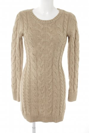 Hallhuber Sweater Dress camel casual look