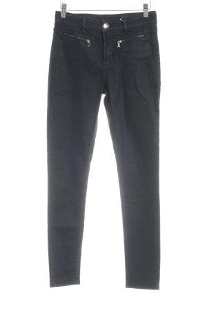 Hallhuber Drainpipe Trousers black casual look
