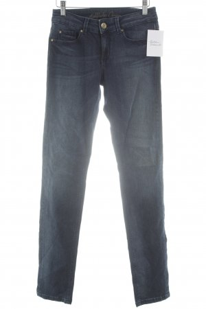 Hallhuber Tube jeans blauw casual uitstraling