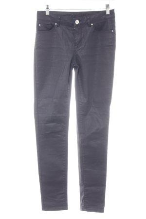 Hallhuber Jeans a sigaretta blu scuro stile semplice