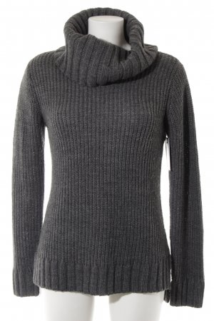 Hallhuber Turtleneck Sweater grey fluffy