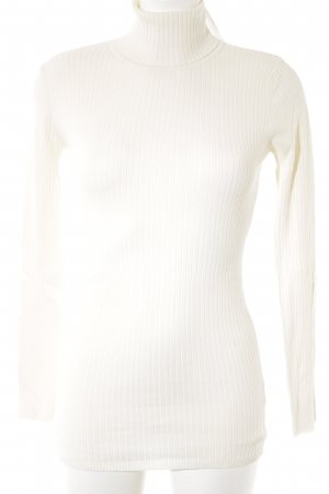 Hallhuber Turtleneck Sweater natural white casual look