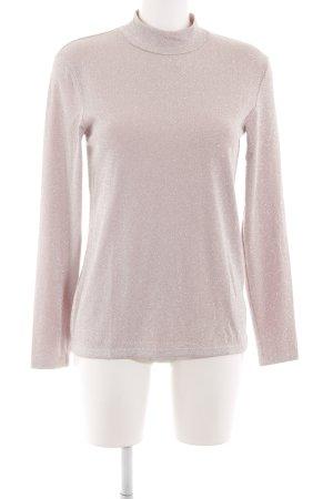 Hallhuber Rollkragenshirt pink Casual-Look