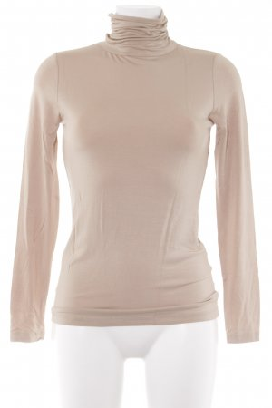Hallhuber Turtleneck Shirt beige casual look