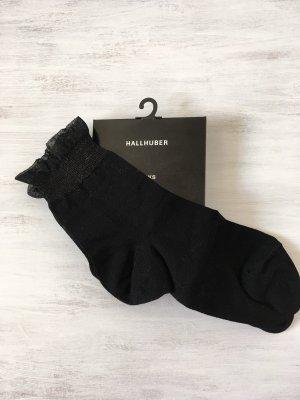 Hallhuber Legwarmers black