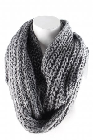 Hallhuber Snood grey casual look