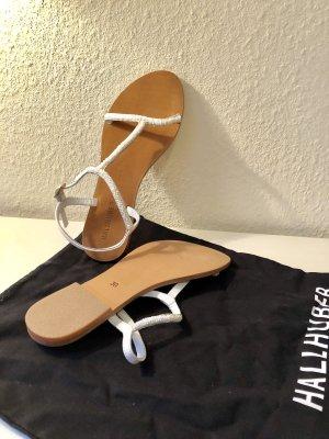 Hallhuber Strapped Sandals white-beige
