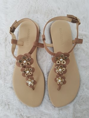 Hallhuber Sandals multicolored leather
