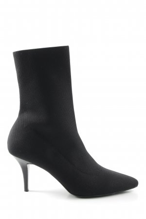 Hallhuber Schlüpf-Stiefeletten schwarz Elegant