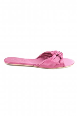 Hallhuber Schlüpfschuhe pink Casual-Look