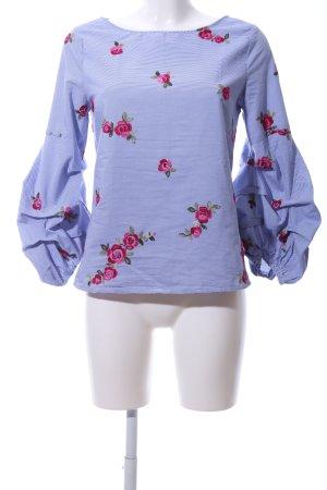 Hallhuber Slip-over blouse bloemenprint casual uitstraling