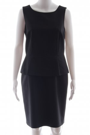 Hallhuber Peplum jurk zwart elegant