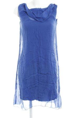 Hallhuber schulterfreies Kleid blau Elegant