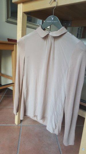 Hallhuber: Seiden-Bluse/Langarmshirt, Größe 36