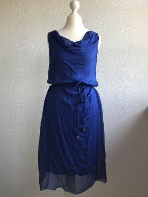 Hallhuber Midi Dress blue