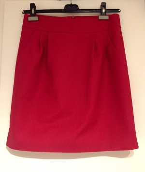 Hallhuber Tulip Skirt dark red-red