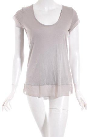 Hallhuber Shirt grau Casual-Look
