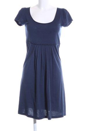 Hallhuber Shirtkleid blau Casual-Look