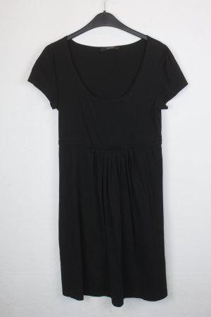 Hallhuber Shirtkleid Gr. L schwarz (18/5/364)