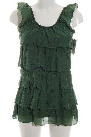 Hallhuber Shirttunika waldgrün Casual-Look